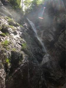 Cascata vicino a Lesis di Claut