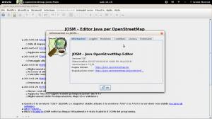 Schermata di Josm